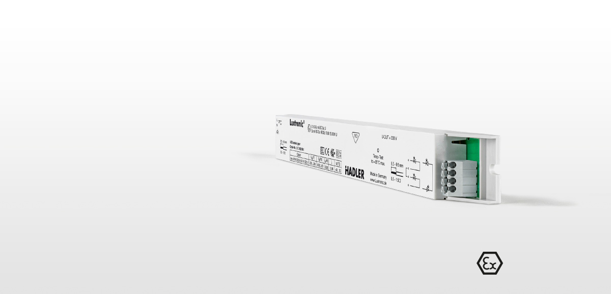 Luxtronic innovative trusted partner for slim luminaires lighting manufacturers with led driver linear VI